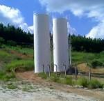 Caixa D'água em Cilindro Instalada